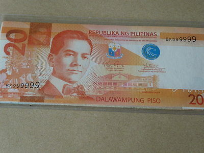 Philippine Solid Serial Banknote