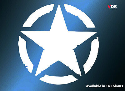 Invasion Star Army Logo Vinyl Decal Sticker Car Laptop Window Bumper