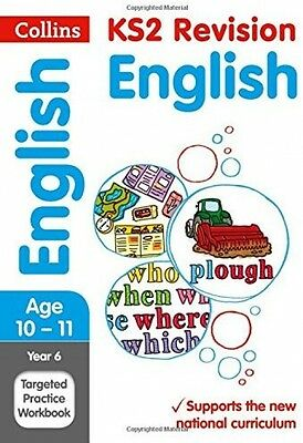 Year 6 English SATs Targeted Practice Workbook: 2018 Tests (Collins KS2 And
