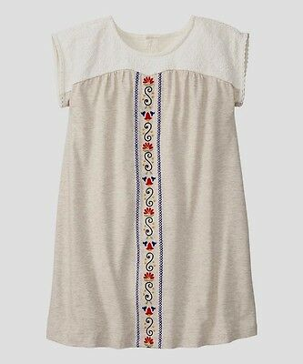 Nwt Hanna Andersson Lace Embroidered Dress Size 130 7 8 Girls Boutique Summer