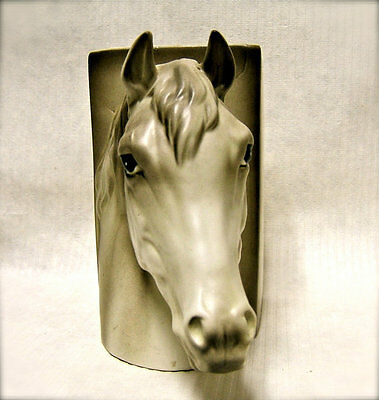 Vintage 1960s Horse Head Bookend
