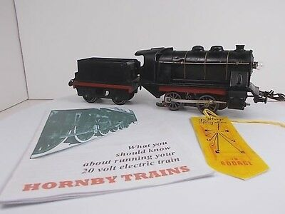 French Hornby O Gauge Steam Type Loco OE