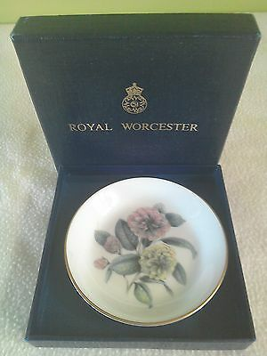 Royal Worcester small plate - boxed