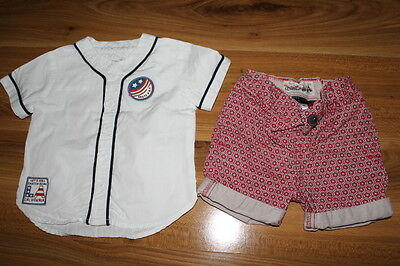 NEXT boys summer top shorts outfit bundle 6-9 months *I'll combine postage
