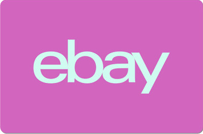 eBay Digital Gift Card - Pink, One Card So Many Options  - Email Delivery