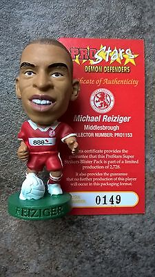 Michael Reiziger Middlesbrough PRO1153 Loose Corinthian Prostars Figure & Card