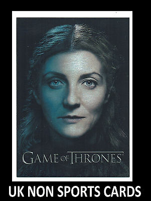Game of Thrones Season 3 Foil Gallery Chase Insert Card PC4 Catelyn Stark