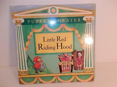 Puppet Theater Little Red Riding Hood Paper Doll Dolls