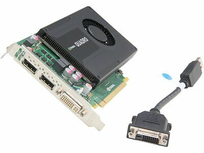 NVIDIA Quadro K2000 2GB GDDR5 Graphics card