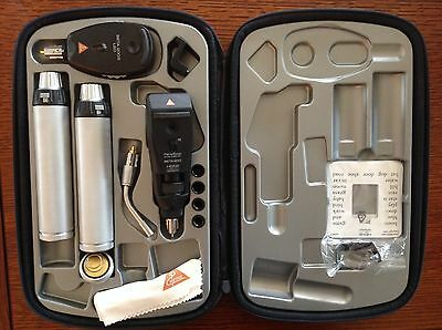 Heine set (Beta 200S Ophthalmoscope, Beta 200 Retinoscope, illuminator)