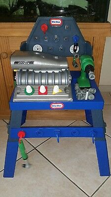 little tikes super charger  work bench