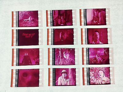 Friday the 13th Part 5 (1985) Movie 35mm Film Cells Film cell Unmounted horror