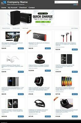 SMARTPHONES and ACCESSORIES WEBSITE BUSINESS for SALE! with DROPSHIPPING SOURCE