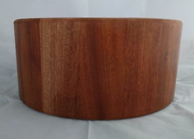 UK - Stave Snare Drum Shell - Mahogany 14X6,5 Oil Finishing - See options!