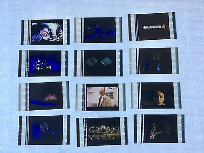 Halloween 4 (1988) Movie 35mm Film Cells Film cell Unmounted michael myers