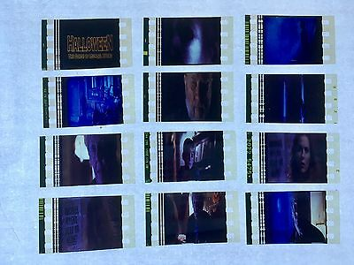 Halloween 6 (1995) Movie 35mm Film Cells Film cell Unmounted michael myers