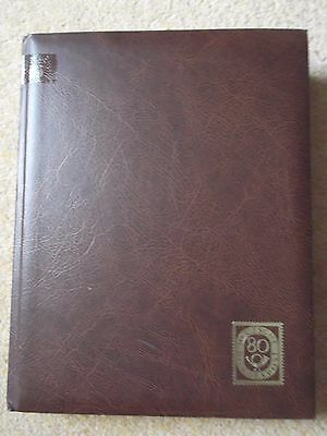 25 page (50 sides) Stock book full of used Belgium Stamps  (T466)