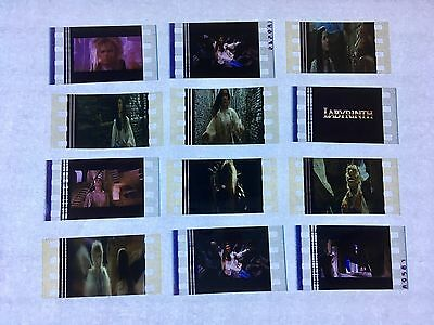 The Labyrinth (1987) Movie 35mm Film Cells Film cell filmcell David Bowie