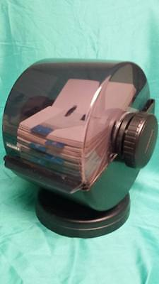 Vintage Rolodex # NSW-24C Seacaucus NJ  retro file system,lots of blank cards