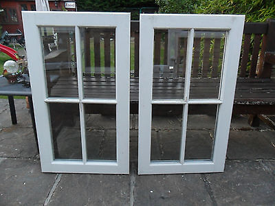 Wooden Windows  520mm x 920mm Double Glazed Glass