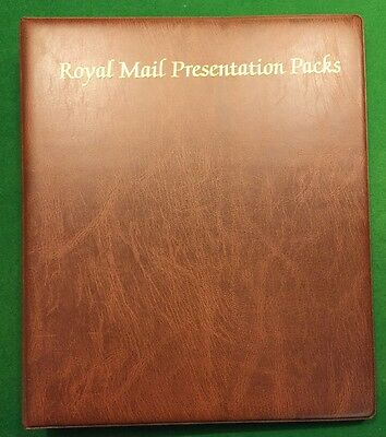 Presentation Packs  Album Royal Mail With 18 Inserts