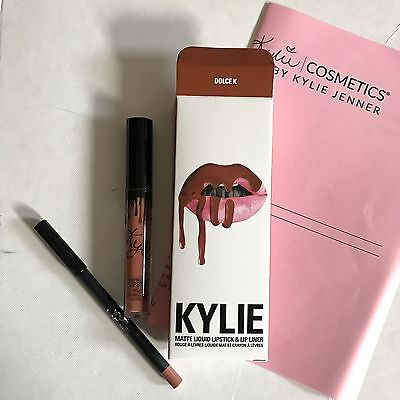 DOLCE K Genuine!! by Kylie Cosmetics Liquid Matte Lipstick With Receipt NEW!