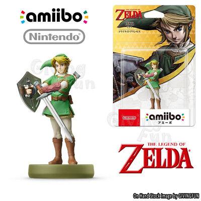 ORIGINAL Nintendo Switch amiibo LEGEND OF ZELDA Link Twilight Princess Figure