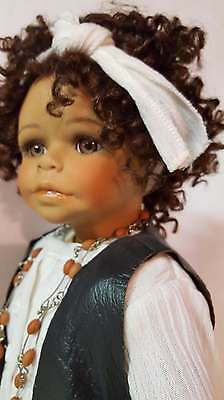 """1997 Artist International 16"""" Porcelain Molly Doll by Kaye Wiggs-Doty Nominee"""