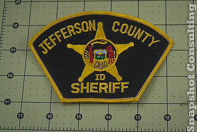 Jefferson County Idaho Sheriff's Department Shoulder Patch FAST SHIPPING