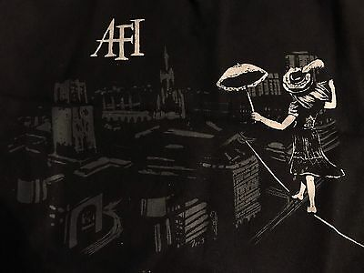 AFI A Fire Inside American Rock Band Black Canvas Tote Bag Edgefest