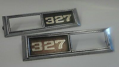 1968 Chevy Impala, Belair or Biscayne 327 Marker Lamp Bezels