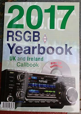 RSGB 2017 yearbook with free CD