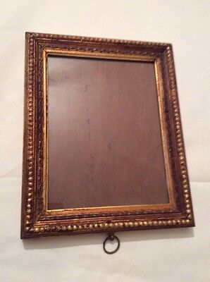Old vintage decorative picture/ photo gilded frame