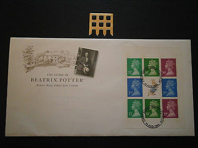 1993 Gb  Beatrix Potter- Booklet Pane-Fdc