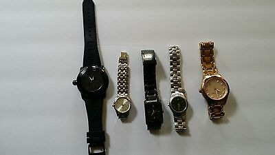 Lot Of Women's Watches MICHAEL KORS COACH FOSSIL + 2 MORE