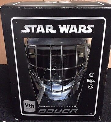 Bauer NME 3 Designs Luke Youth Goalie Hockey Helmet Mask! Star Wars LE Edition
