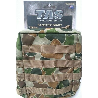 Tas Large Auscam Pouch 3374 - Molle - Holds 2Lt South African Canteen - Mil Spec