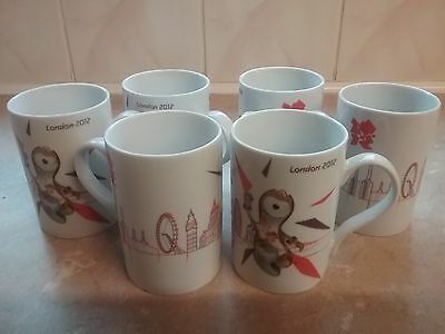 London Olympic 2012 cups x 6  **New