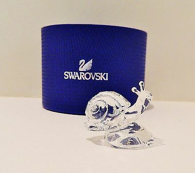 Swarovski  2016  Snail On Leaf   ,  #5135940  , Bnib