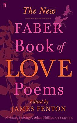 New Faber Book of Love Poems Book by Poets Various Paperback