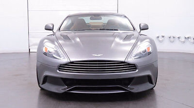 2014 Aston Martin Vanquish 2dr Coupe 2014 Aston Martin Vanquish, Tungsten Silver over Sahara Tan, Low Miles, Gorgeous