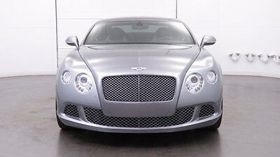 2013 Bentley Continental GT 2dr Coupe 2013 Bentley Continental GT Hallmark Silver over Linen  One Owner, Local AZ Car