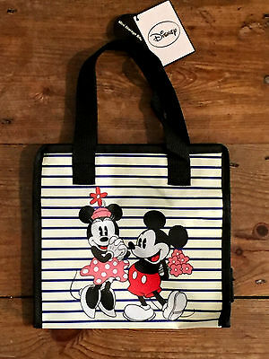 Brand New Disney Minnie and Mickey Mouse Tote Lunch Bag