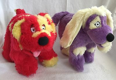 Tweenies Doodles & Izzles Soft Plush Toys 1999-2001 Hasbro BBC