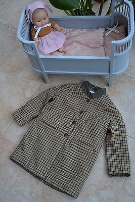 * Amazing Mustard Check Winter Wool Coat from Caramel Baby and Child, £180! *