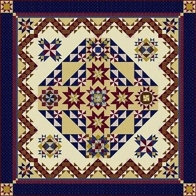 Freedom Bound Quilt Pattern And Fabric Kit by Windham Fabrics