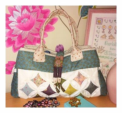 cathedral window bag pattern