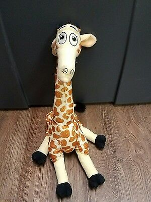 Melman Madagascar 2 Plush 2008 DreamWorks Animation Plushie Giraffe Stuffed