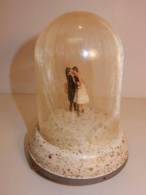 VINTAGE 1930s DANCING COUPLE MUSIC BOX VIENNA LIFE DANCER OR WEDDING CAKE TOPPER