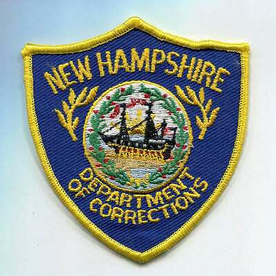 New Hampshire Department of Corrections Patch